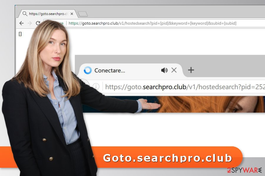 Picture of Goto.searchpro.club virus