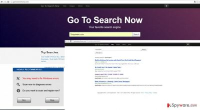 The image showing gotosearchnow.com