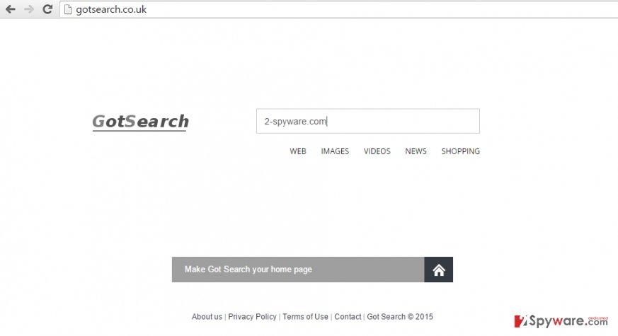 GotSearch.co.uk hijack
