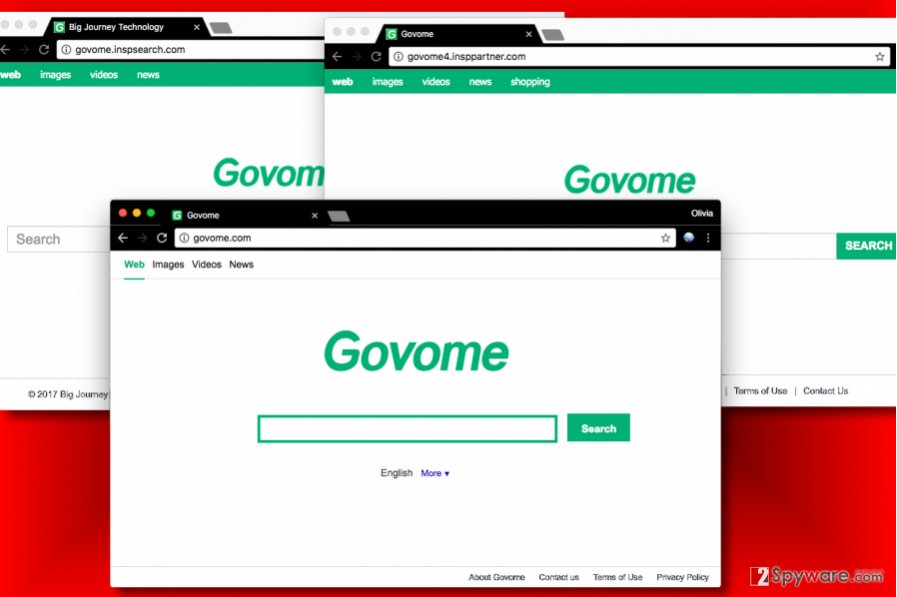 Govome.com redirect viruses