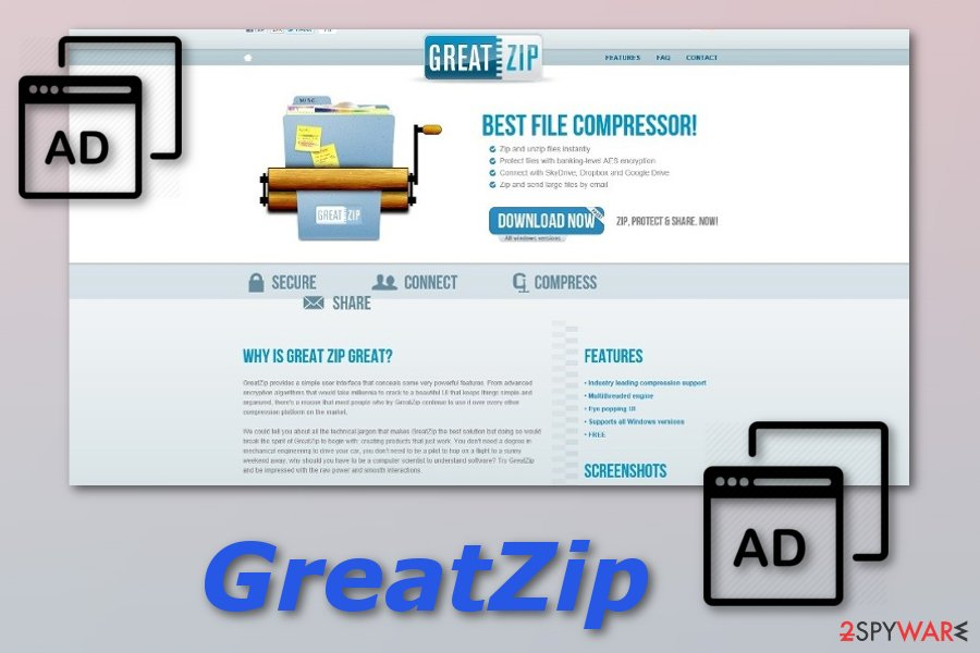 GreatZip adware