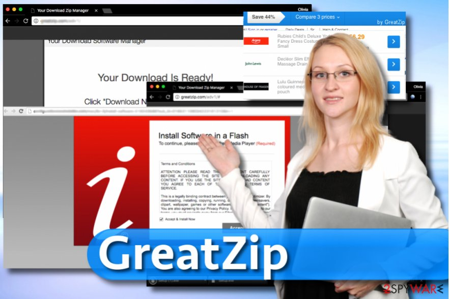 GreatZip ads