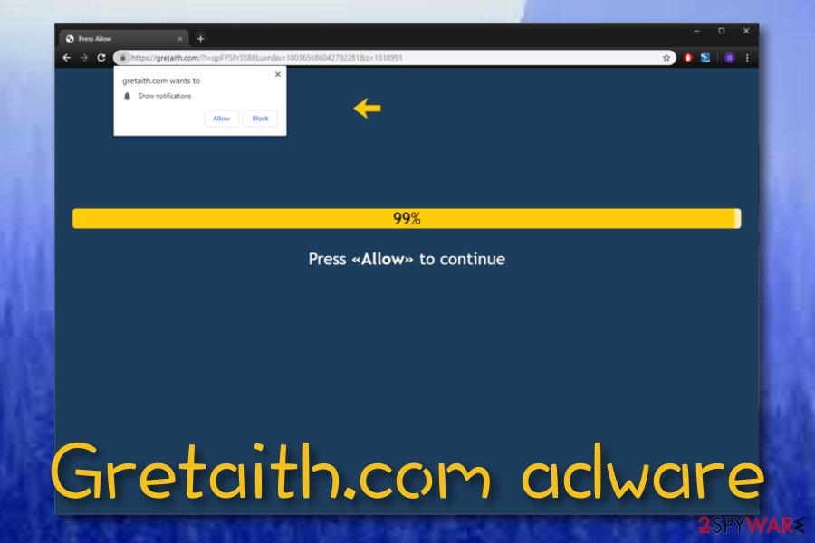 Gretaith.com virus