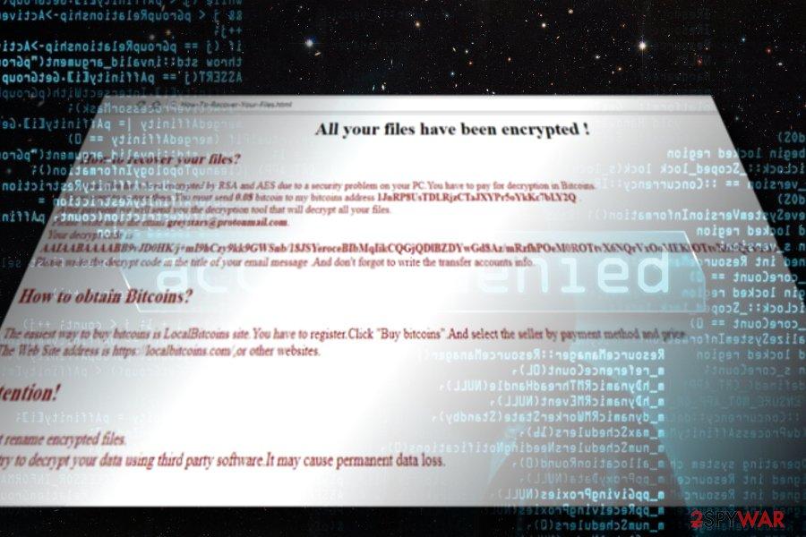 Greystars ransomware