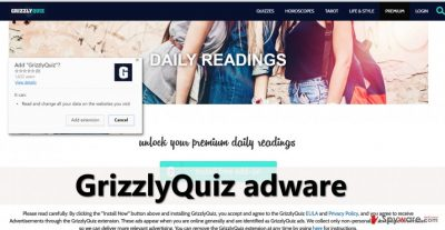 GrizzlyQuiz site and suggestion to install it