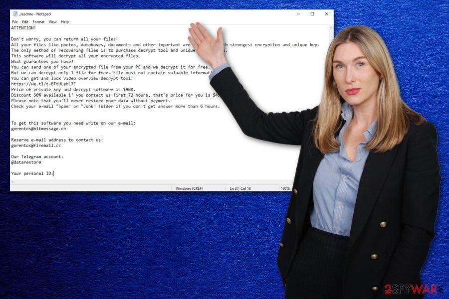 Grod ransomware virus
