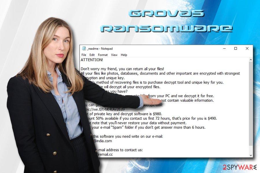 Grovas ransomware
