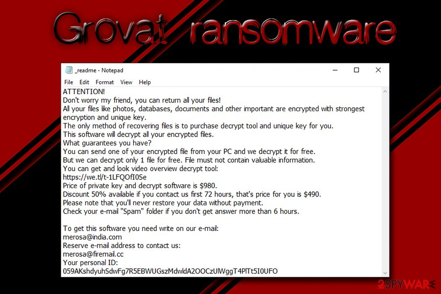 Grovat ransomware