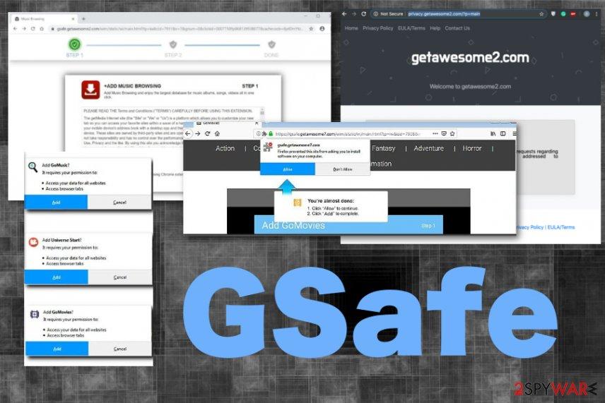 GSafe adware