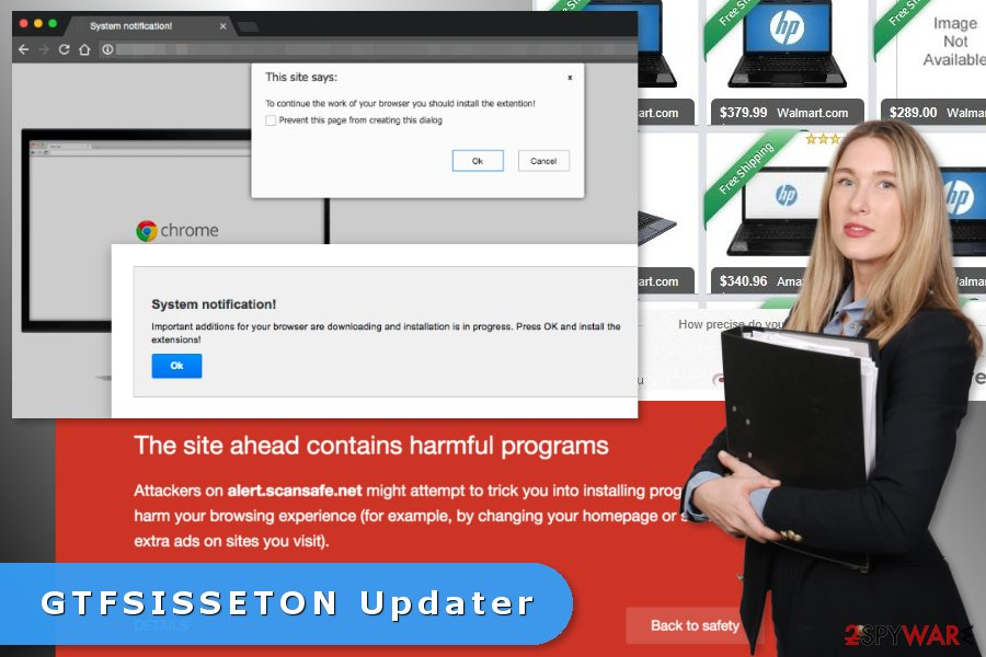 Image of GTFSISSETON Updater virus