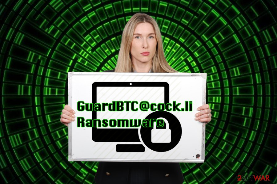 Portraying GuardBTC@cock.li virus
