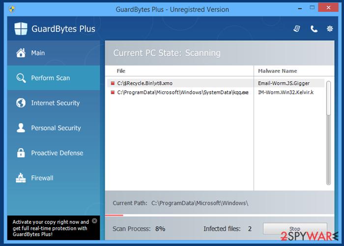GuardBytes Plus snapshot