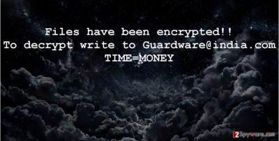Guardware@india.com ransomware virus