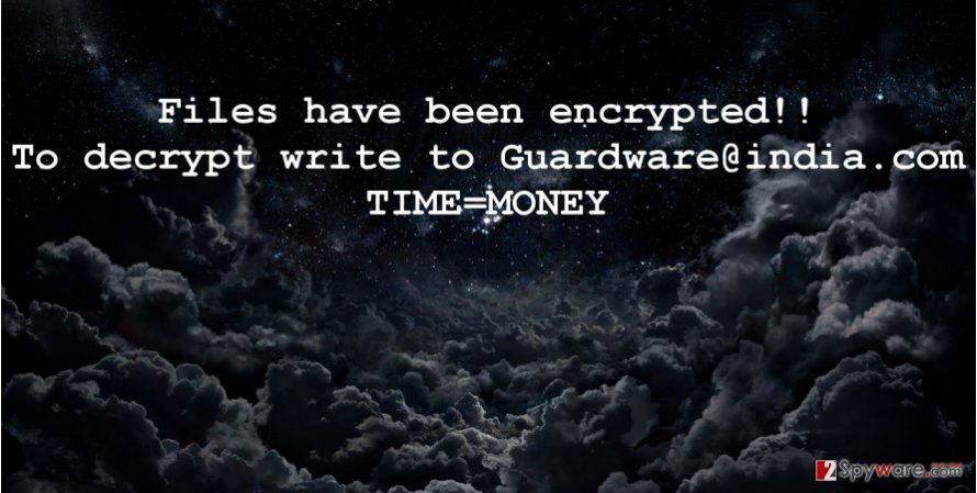 Guardware@india.com ransomware virus