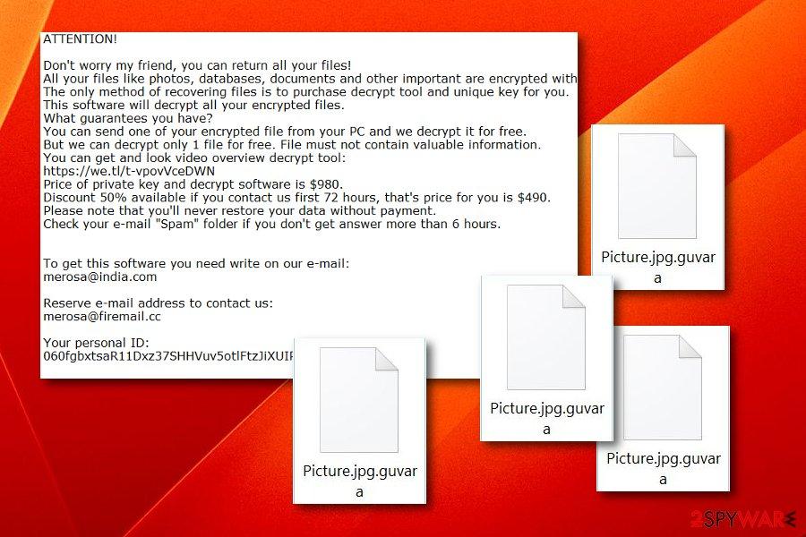 Guvara ransomware virus