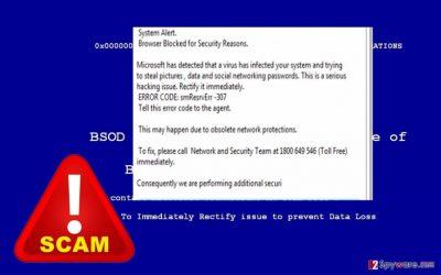 The note of Hacker Alert virus