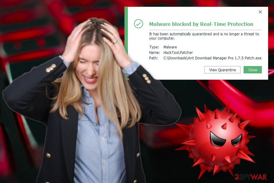 HackTool:Win32/Patcher virus