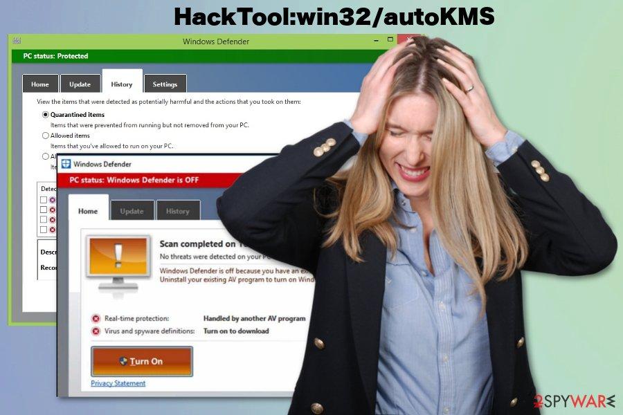 HackTool:win32/autoKMS virus