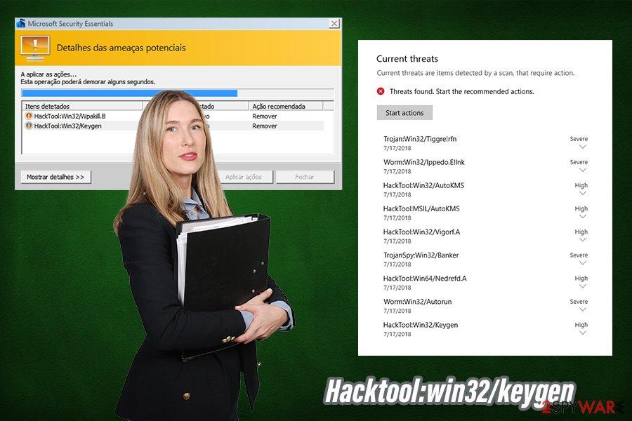 Hacktool:win32/keygen virus