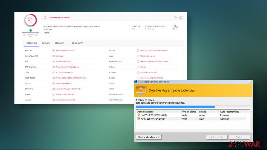 Hacktool:win32/keygen detection