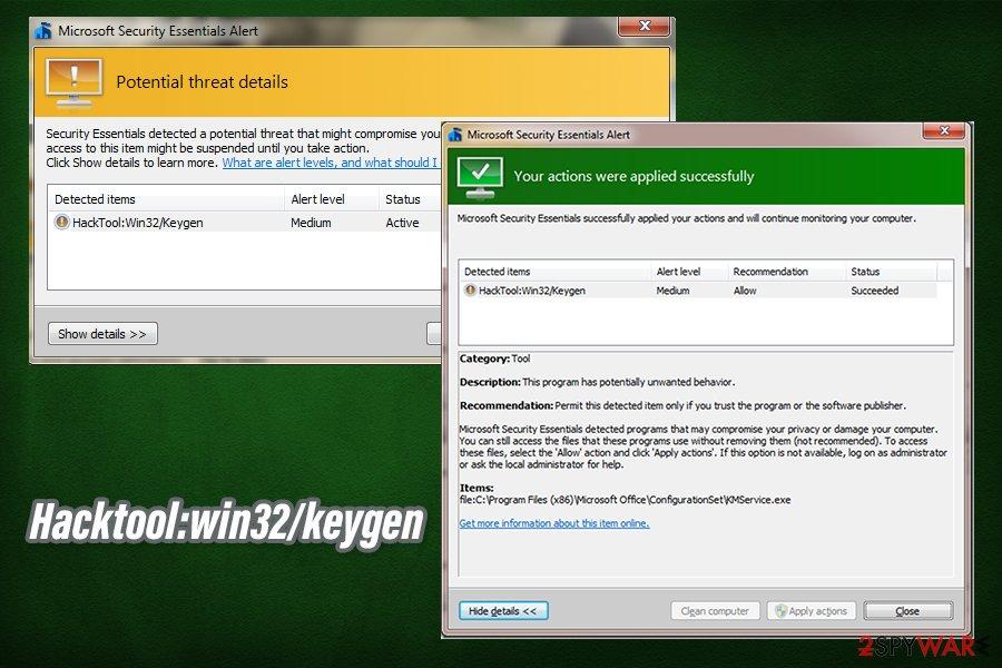 Hacktool:win32/keygen