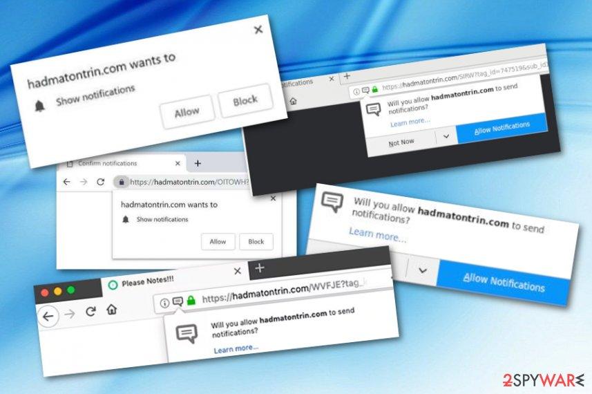 Hadmatontrin.com adware
