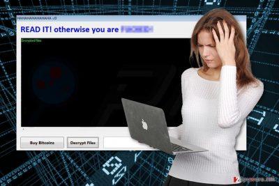 HAHAHA ransomware virus