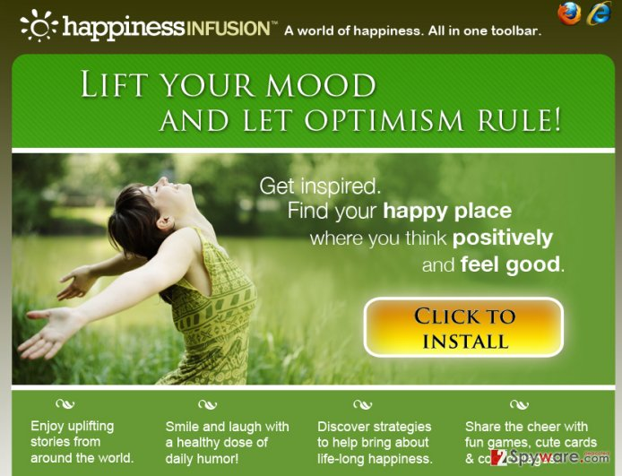 HappinessInfusion Toolbar virus