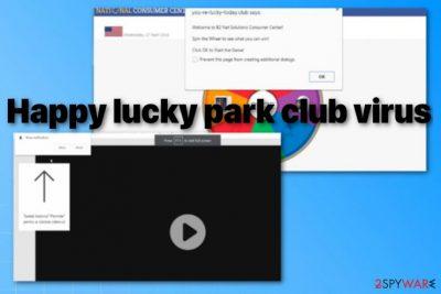 Happy lucky park club virus