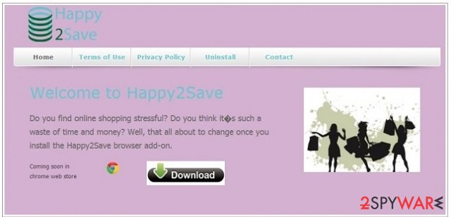 Happy2Save snapshot