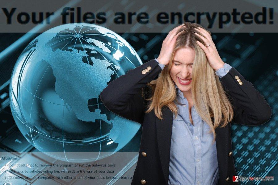The image of Happydayz@india.com ransomware virus