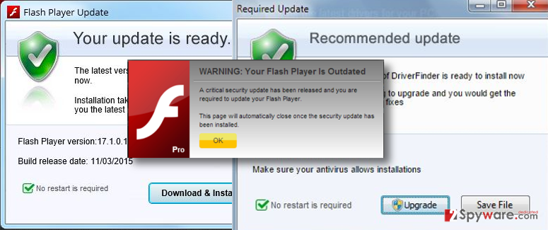 Do not agree to install fake updates that are promoted by Hardware92.xyz adware