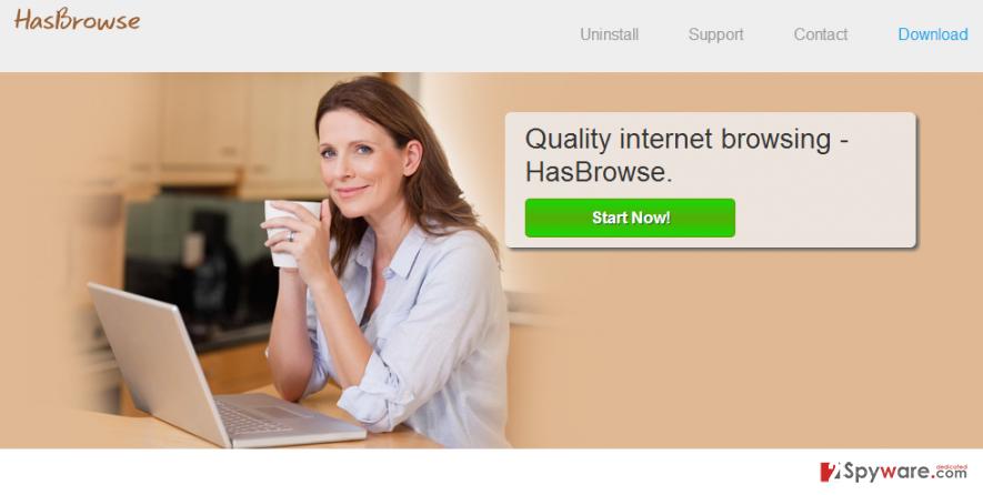HasBrowse virus snapshot