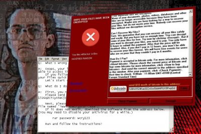 Haxerboi ransomware imitating WannaCry