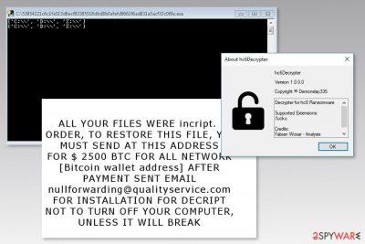 Image of hc6 ransomware