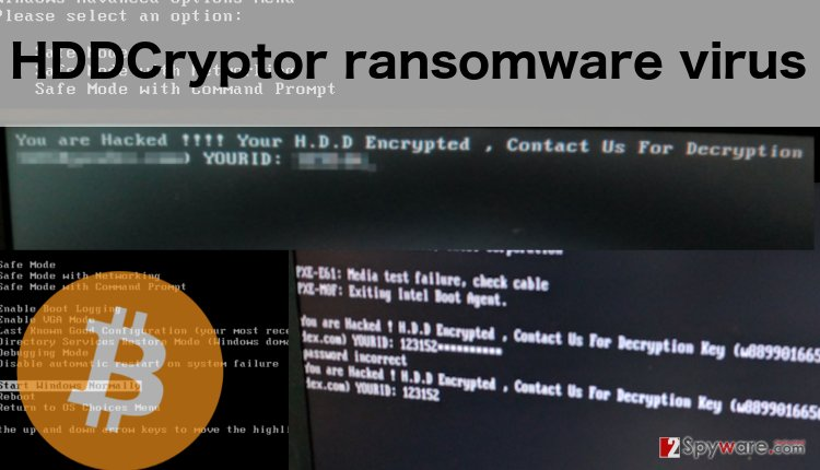 An image of HDDCryptor virus