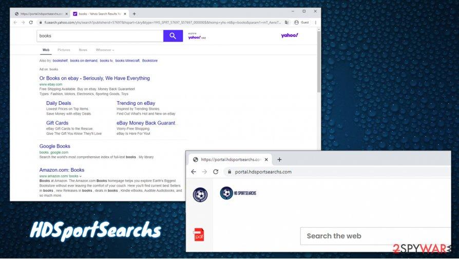 HDSportSearchs virus