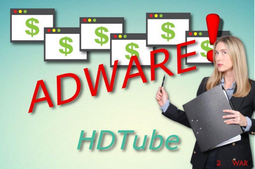 HDTube adware