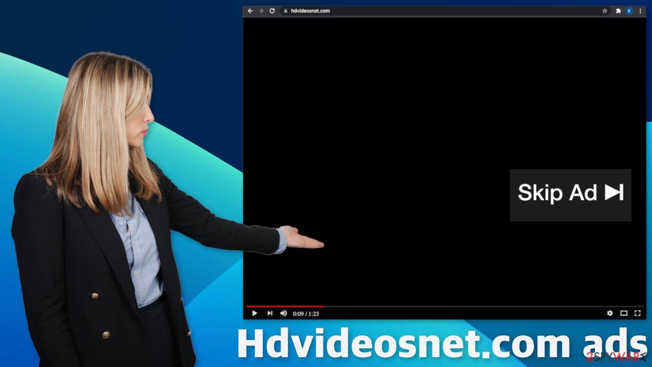 Hdvideosnet.com ads