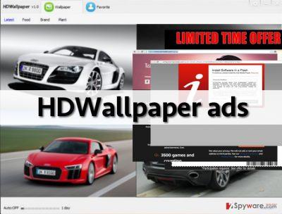 HDWallpaper hijack