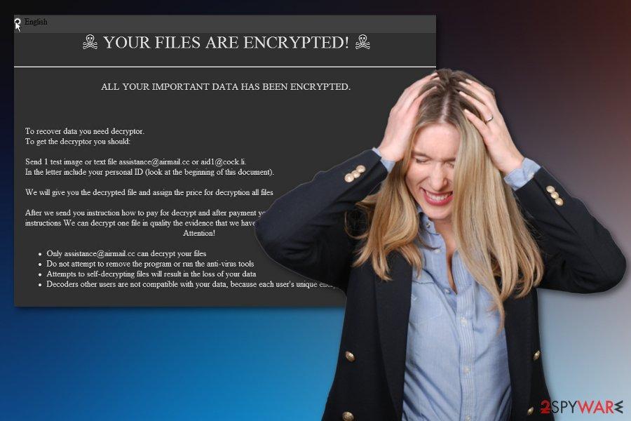 Healforyou ransomware