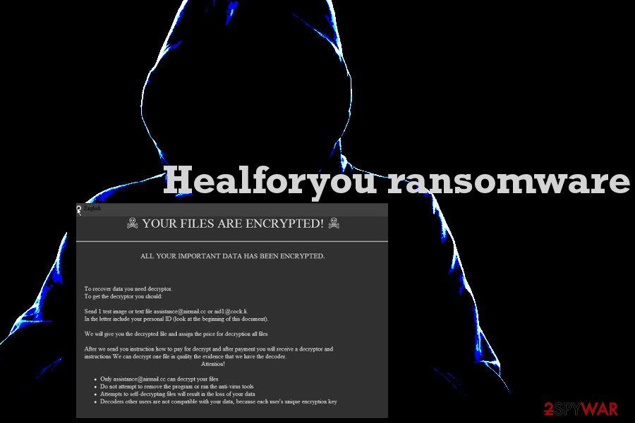 Healforyou ransomware virus