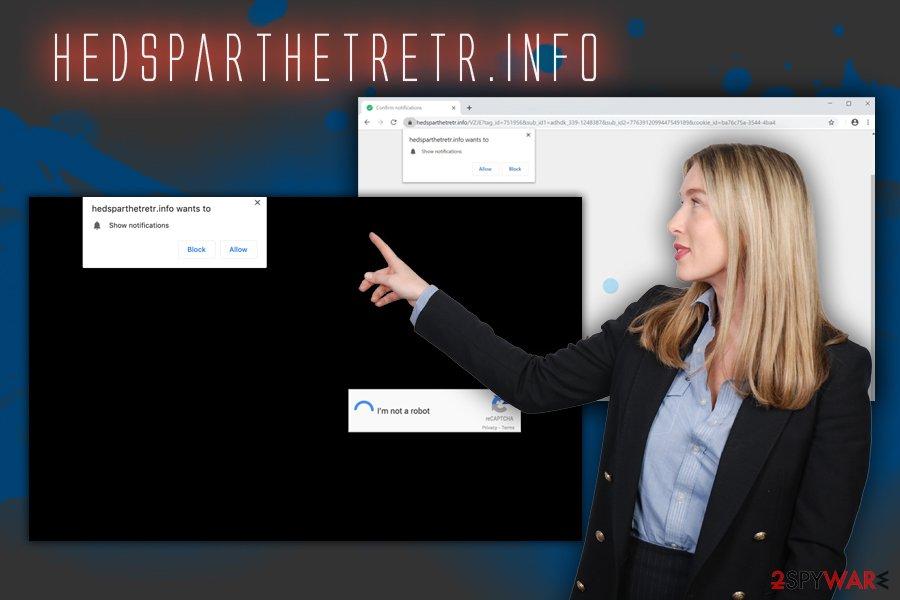 Hedsparthetretr.info adware