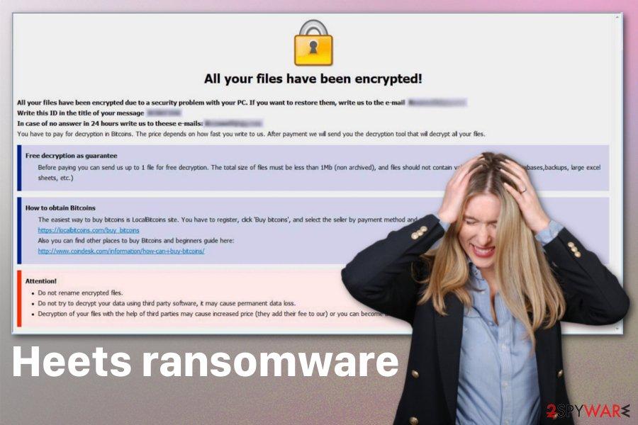 Heets ransomware virus