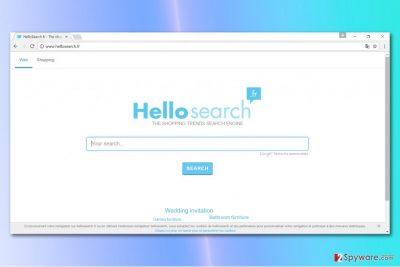 Hellosearch.fr virus