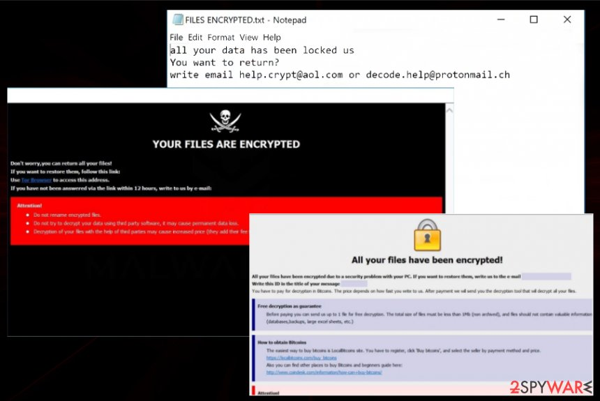 [help.crypt@aol.com].LX ransomware virus