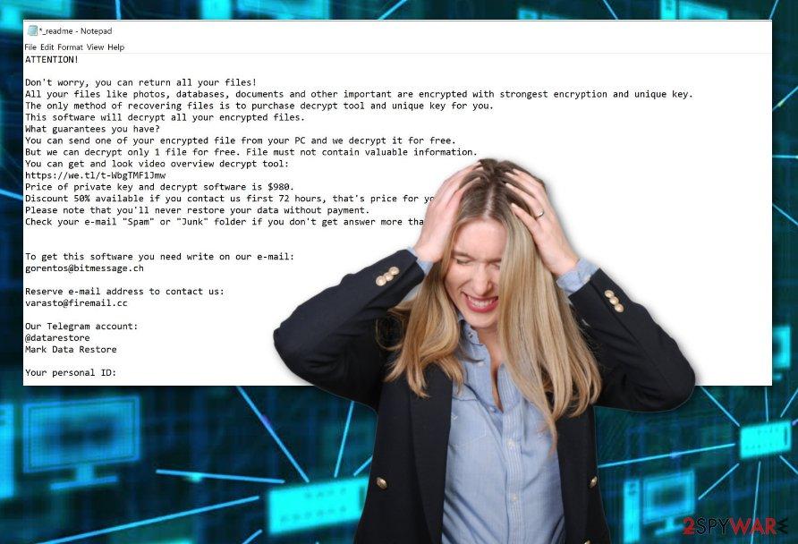 Herad ransomware virus
