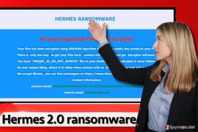 Hermes 2.0 ransomware virus