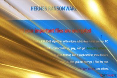 Hermes ransomware