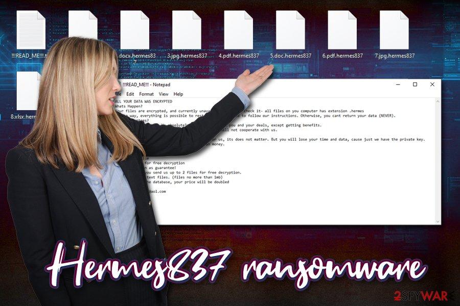 Hermes837 ransomware virus
